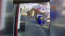 Sarıyer'deki saldırgan at kamerada!