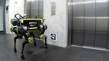 ANYmal: Merdiven tırmanıp asansöre binebilen robot