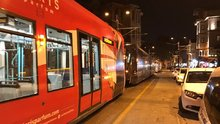 Karaköy'de tramvay seferleri yapılamıyor