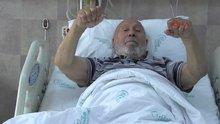 78 yaşında ağaçta barfiks çekerken düşüp, dizindeki kemikleri kırdı