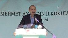 İçişleri Bakanı Süleyman Soylu, Mehmet Ayaydın İlkokulu açılışında konuştu