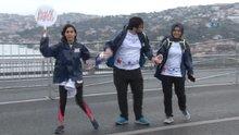 15 Temmuz Şehitler Köprüsü'nde halay çektiler