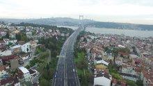 İstanbul Maratonu havadan görüntülendi