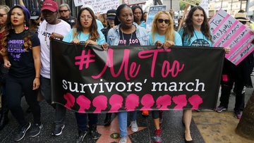 Cinsel tacize karşı yürüyüş