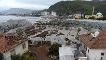 Antalya'daki hortum afetinin boyutu gündüz ortaya çıktı