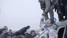 Astronot Scott Kelly'nin dünyaya inişinin yeni görüntüleri!