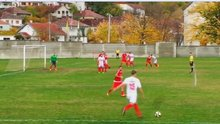 Bosna Hersek'teki maçta ilginç serbest vuruş