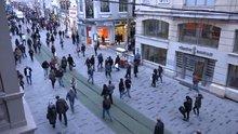 İstiklal Caddesi'ndeki yenileme çalışması!