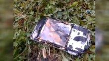 5 ay önce aldığı telefon elinde yandı