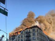 New York'ta büyük yangın!