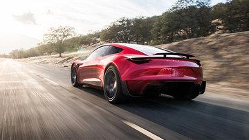 Tesla Roadster 100 km/s hıza 1,9 saniyede çıkabiliyor
