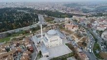 Aya Yorgi Rum Ortodoks Kilisesi havadan görüntülendi