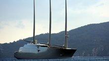 Dünyanın en pahalı yelkenli yatı Marmaris'te