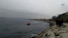 Kadıköy'de bir kişi denize düştü!