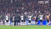 UEFA 'Beşiktaş'ın üçlü çektirme' videosunu paylaştı