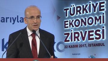 Başbakan Yardımcısı Mehmet Şimşek Bloomberg HT Ekonomi Zirvesi'nde konuştu