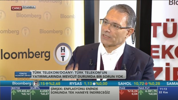 Türk Telekom CEO'su Paul Doany Bloomberg HT Ekonomi Zirvesi'nde