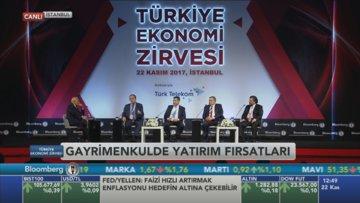 Bloomberg HT Ekonomi Zirvesi'nde 'Gayrimenkulde yatırım fırsatları oturumu'