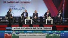 Bloomberg HT Ekonomi Zirvesi'nde 'Mega Projeler oturumu'