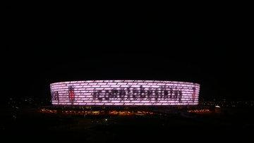 Azerbaycan'dan Beşiktaş'a destek