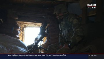 Habertürk ekibi Oramar'a gitti! Mehmetçik'in zorlu mücadelesine tanıklık etti