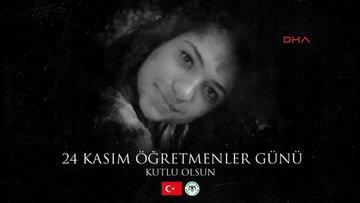 Atiker Konyasporlu futbolcular Öğretmenler Günü'nde Aybüke öğretmeni unutmadı