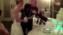 Düğünlerde hüsranla biten pasta kesimleri