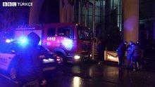 Türk işadamının Batum'daki otelinde yangın çıktı