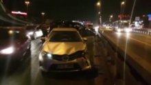 Bakırköy D-100 Karayolu'nda zincirleme kaza