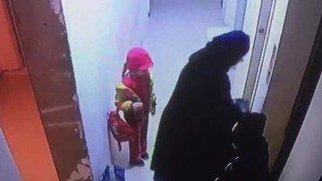 Muhammed bebeğin öldüğü asansör faciası kamerada!