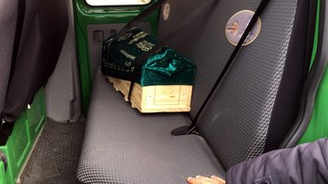 Asansör faciasında ölen Muhammed bebeğin cenazesi böyle taşındı