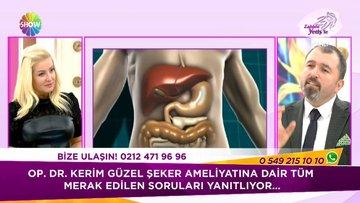 Op. Dr. Kerim Güzel şeker hastalığı ile ilgili soruları cevapladı!