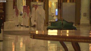 Suudi prenslerin tutulduğu otelden ilk görüntüler!