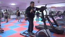 Askere gidebilmek için spora başladı!