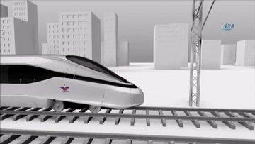 Türkiye'nin ilk milli yüksek hızlı treni için düğmeye basıldı