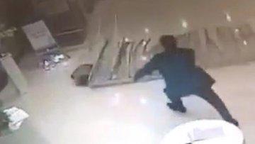 Otelde korku dolu anlar! küçük çocuk ölümden döndü