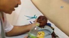 Su verilmediği için fenalaşan 2 aylık bebeğin hayatını kurtardı