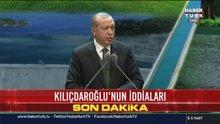 Erdoğan: Yurt dışına giden tek kuruş para yok