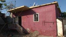 Mersin'de gizemli kazının yapıldığı evin içi görüntülendi