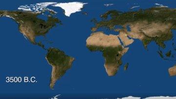 M.Ö. 3500 yılından günümüze insanlığın yerleşim haritası