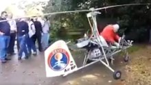 80 yaşındaki dedenin kendi imkanlarıyla yaptığı hava aracı