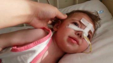 Epilepsi hastası minik Hira Nur'un çığlıkları yürek burktu