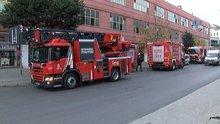 Bayrampaşa'da iş hanında yangın paniği