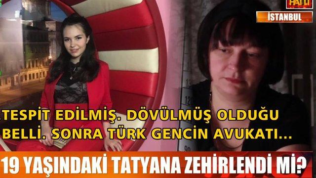 Rus genç kızın şüpheli ölümü!