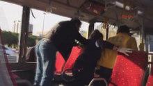Yenibosna Çobançeşme'de metrobüs kazası