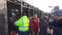 Yenibosna'daki metrobüs kazasından yeni görüntüler
