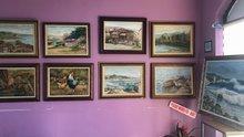 71 yaşındaki ressam fırçasıyla Alaplı'yı tanıtıyor