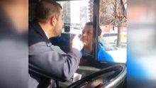 İETT otobüsü şoförü ile otomobil sürücüsü kavga etti