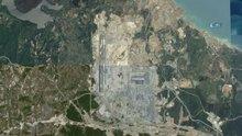 3'üncü Havalimanı inşaatının yıllar içinde değişimi uzaydan görüntülendi