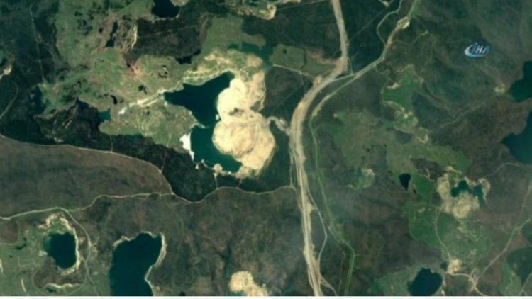 3.Havalimanı Uzaydan Görüntülendi